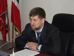 Президент ЧР Р. Кадыров встретился с депутатом ГД РФ А. Делимхановым
