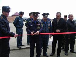 В Гудермесе состоялось открытие новой пожарной части