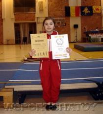 Чеченская гимнастка на спортивной арене Бельгии