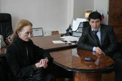Чеченскую Республику посетила профессор Римского университета