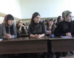 Беседа со студентами ЧГПИ о духовно-нравственном возрождении  нации