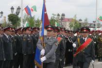В Грозном состоялся парад, посвящённый Дню победы
