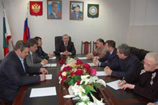 Председатель Избиркома ЧР встретился с руководителями РОПП в ЧР