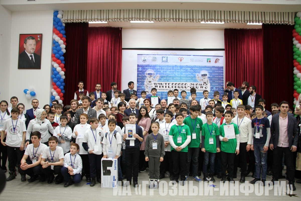 Чемпионат СКФО по робототехнике WinterRobo-shows