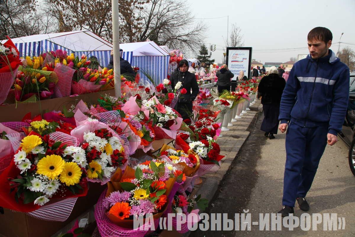 В Чеченской Республике отмечают Международный женский день 8 марта