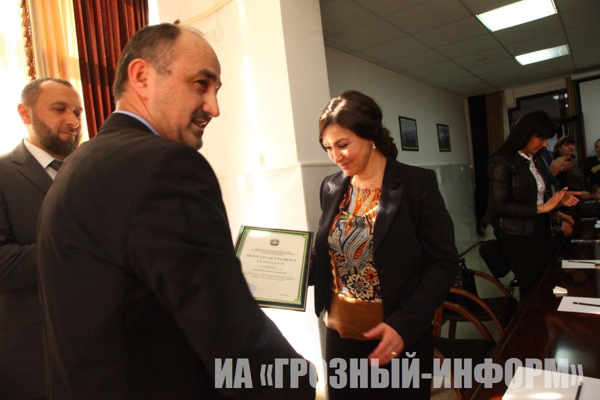 Награждение победителей конкурса «Молодежь Кавказа лицом к будущему»