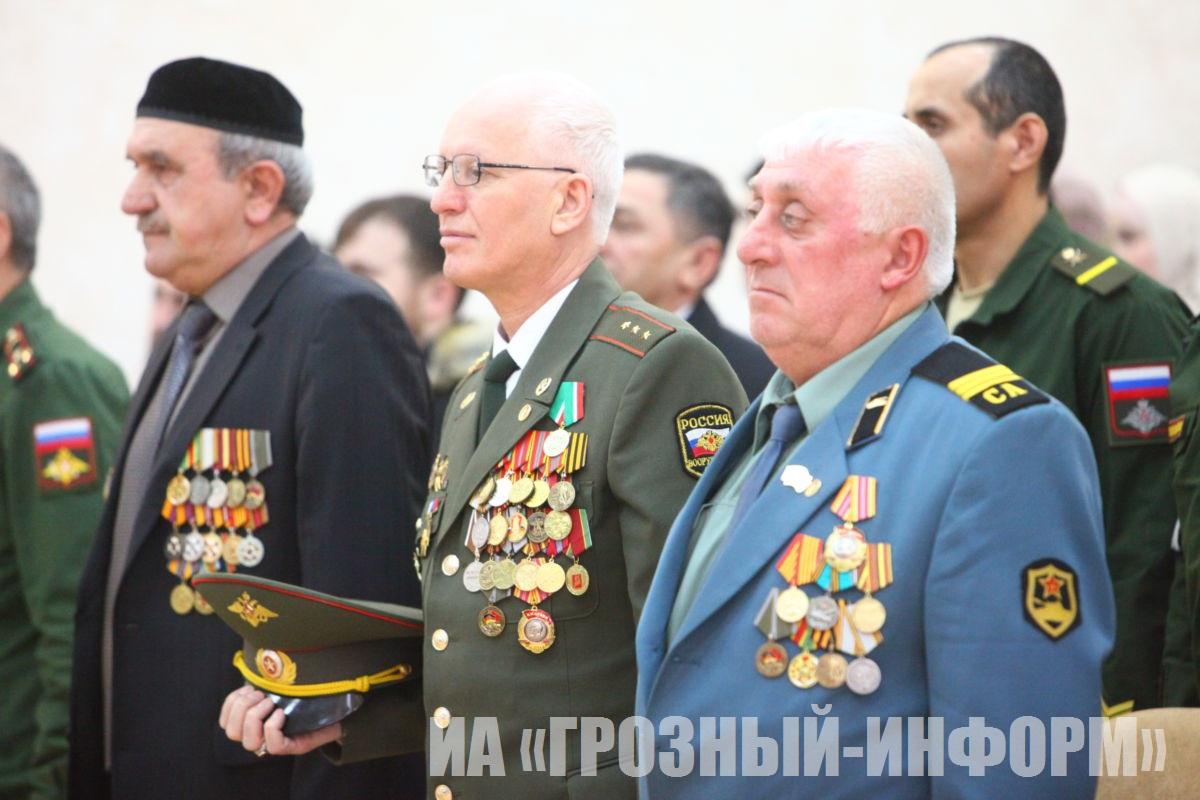 День защитника Отечества отметили в Миннаце Чеченской Республике