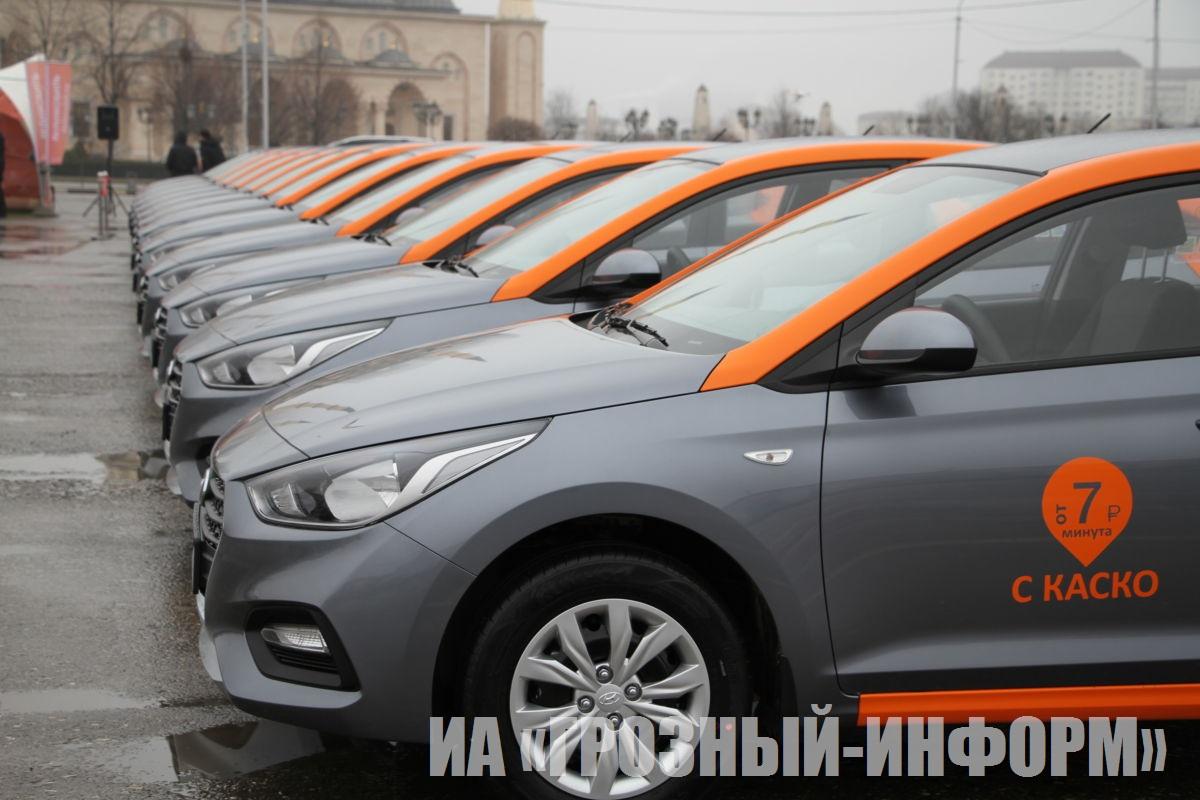 Открытие подразделения Федеральной каршеринговой компании «Делимобиль» в Грозном