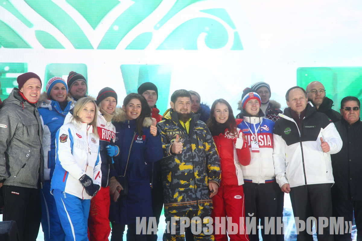 """Открытие всесезонного горнолыжного курорта """"Ведучи"""""""