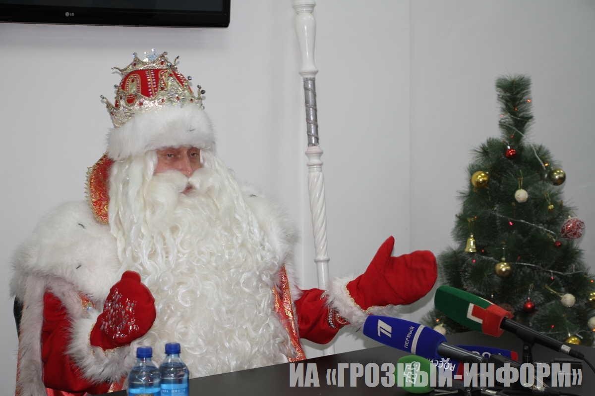 Российский Дедушка Мороз в Чеченской Республике