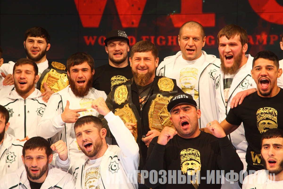 Взвешивание участников грандиозного бойцовского турнира WFCA 44