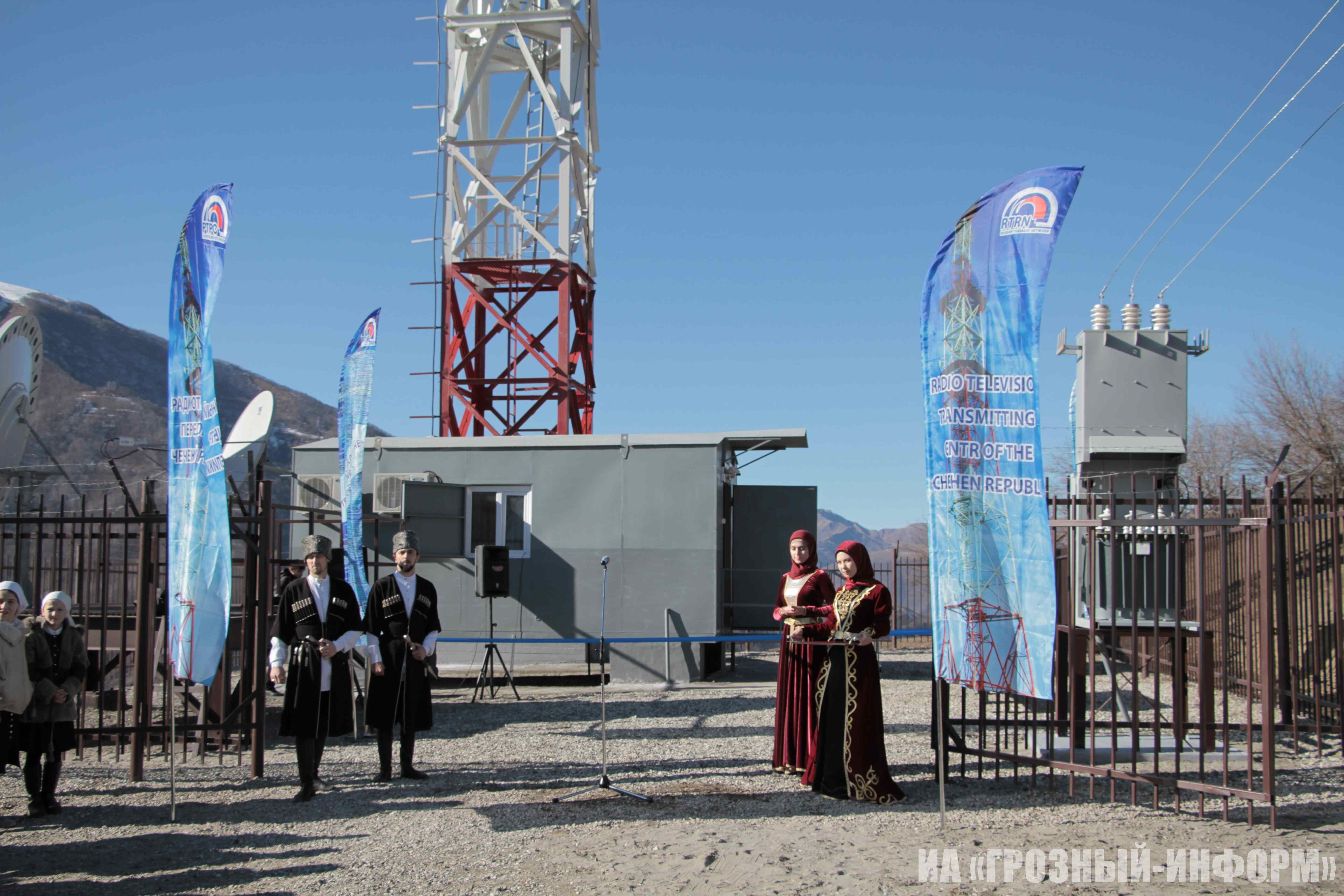 В Ведучи появилась станция цифрового телевещания