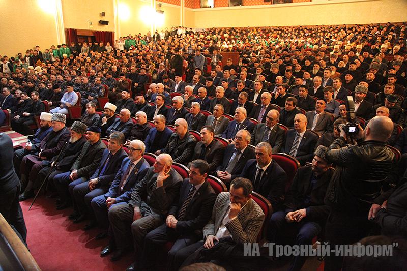 Общественность Чеченской Республики выразило поддержку Главе ЧР Рамзану Кадырову