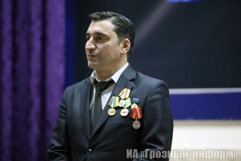 Председатель Союза журналистов ЧР Ислам Хатуев отметил юбилей