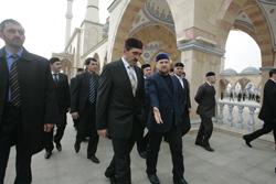 Визит президента Республики Ингушетии в Чечню фото с сайта grozny-inform.ru