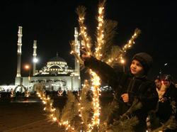Чечня в ожидании Нового года