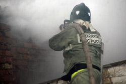В Новосибирске погиб пожарный