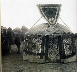 Женское платье рубаха у ногайцев
