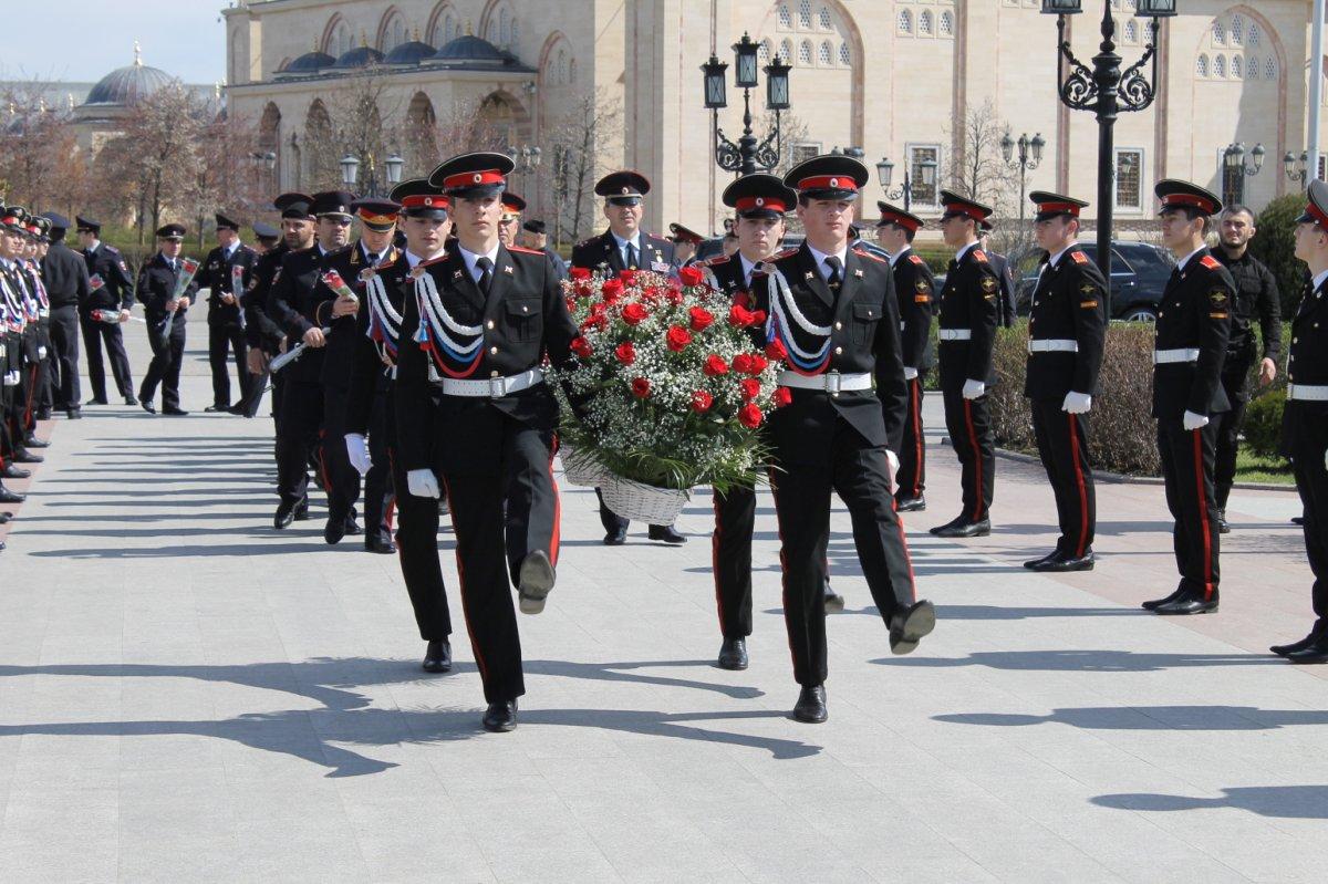 Чеченской республики почтили память
