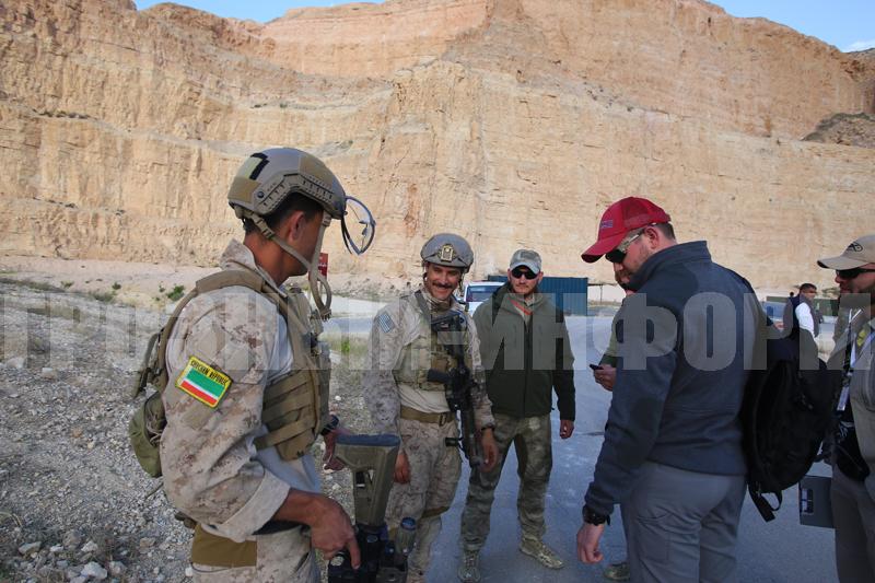 Конкурс спецназа в иордании
