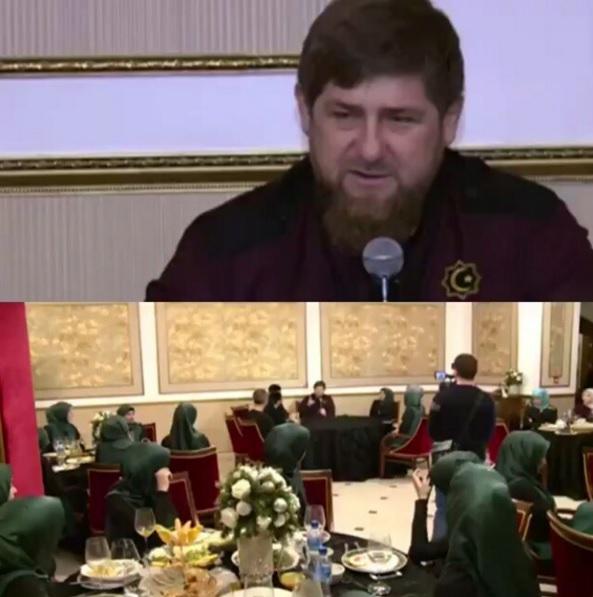 Рамзан кадыров и адам делимханов (слева) готовят новый массовый митинг в поддержку чеченского лидера