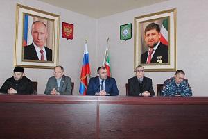 В Грозненском районе состоялся прием граждан