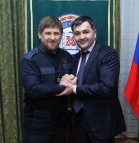 Рамзан Кадыров поздравил с днем рождения депутата Госдумы РФ Магомеда Селимханова