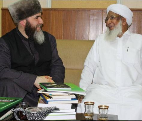 Встреча Муфтия ЧР с руководителем Центра суннитской культуры в Индийском штате Керала