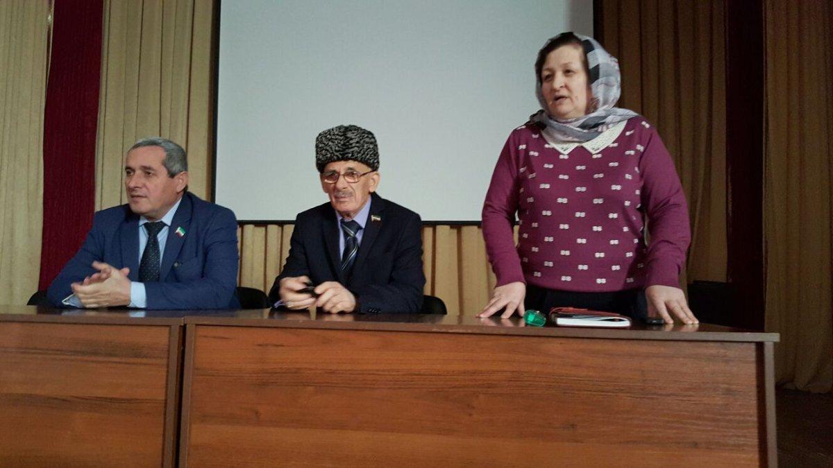 Д.Висмурадов встретился с работниками культуры Курчалоевского муниципального района