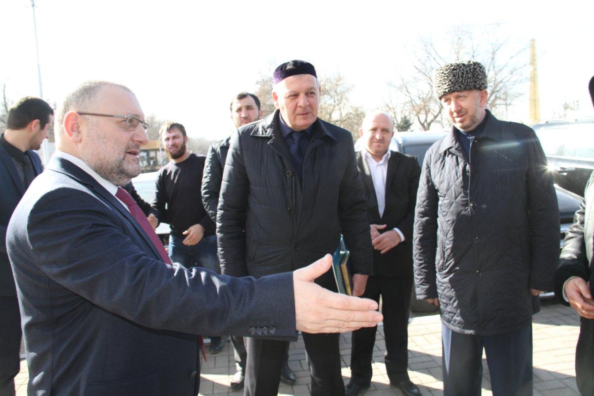 Богословы Чечни встретили делегацию из Ингушетии