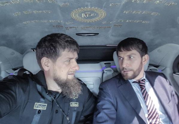 Путин встретился вКремле сврио руководителя Чечни Кадыровым