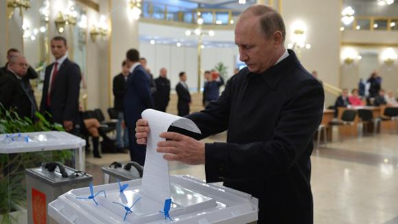 Выборы 2016: Путин ответил навопрос, закого онпроголосовал