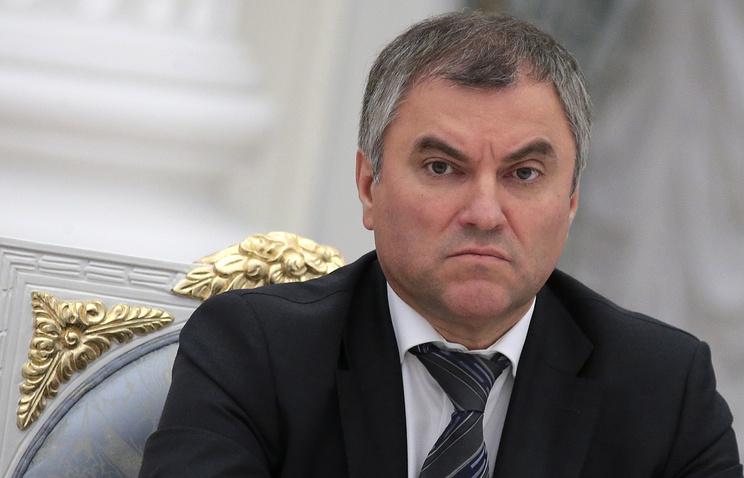 Владимир Путин предложил Вячеслава Володина напост спикера Государственной думы