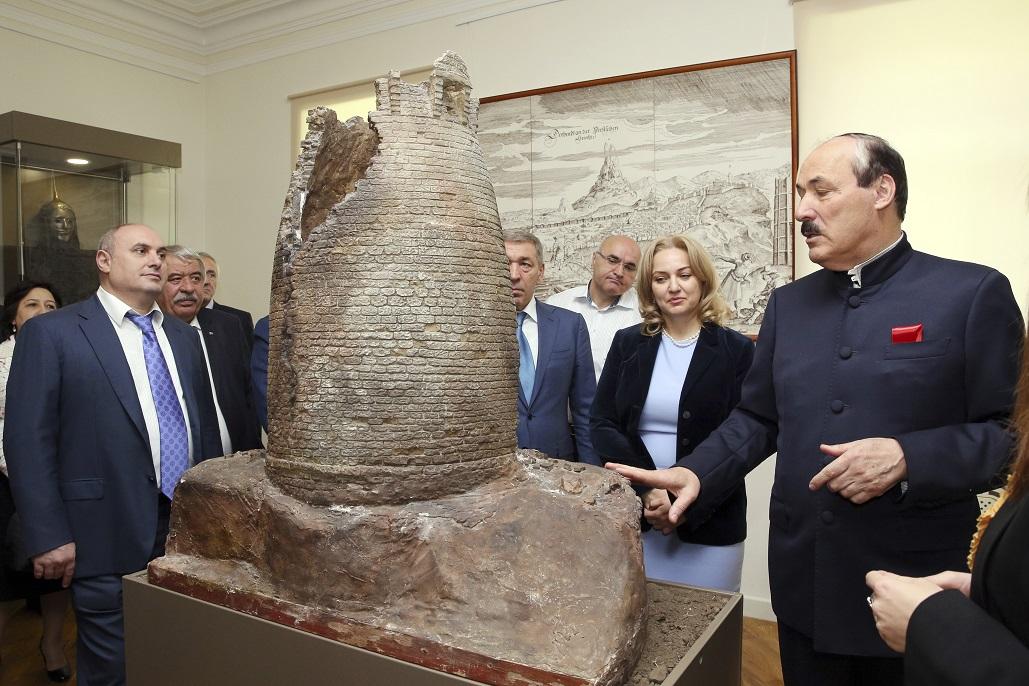 ВМахачкале открылся крупнейший наСеверном Кавказе историко-архитектурный музей