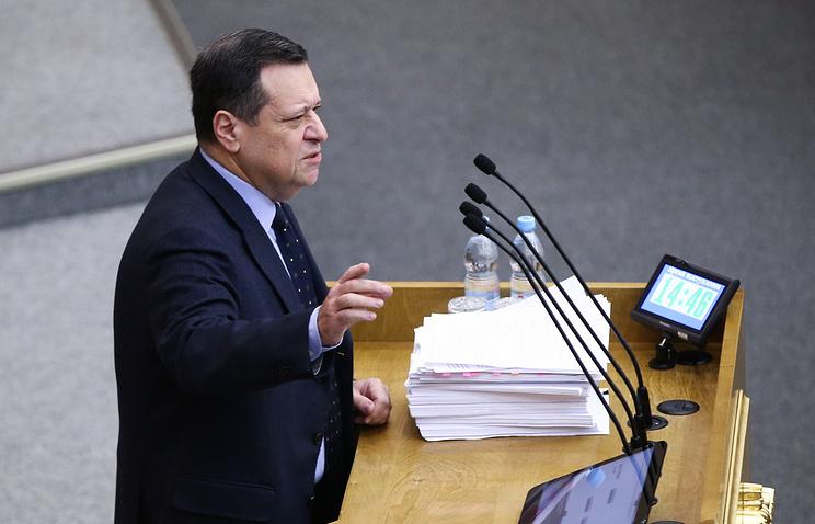 Государственная дума приняла вIчтении проект федерального бюджета на2017-2019 годы