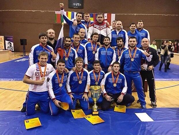 Сборная РФ погреко-римской борьбе выиграла Кубок европейских наций