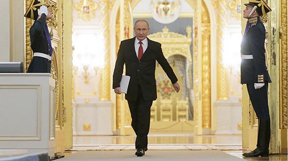 Владимир Путин: Самый влиятельный человек вмире