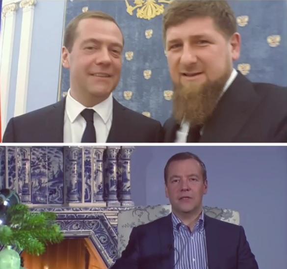 Руководитель Чечни Рамзан Кадыров обнародовал общее фото сПутиным