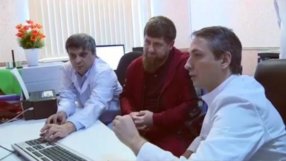 Кадыров прошел медобследование и поведал оего результатах