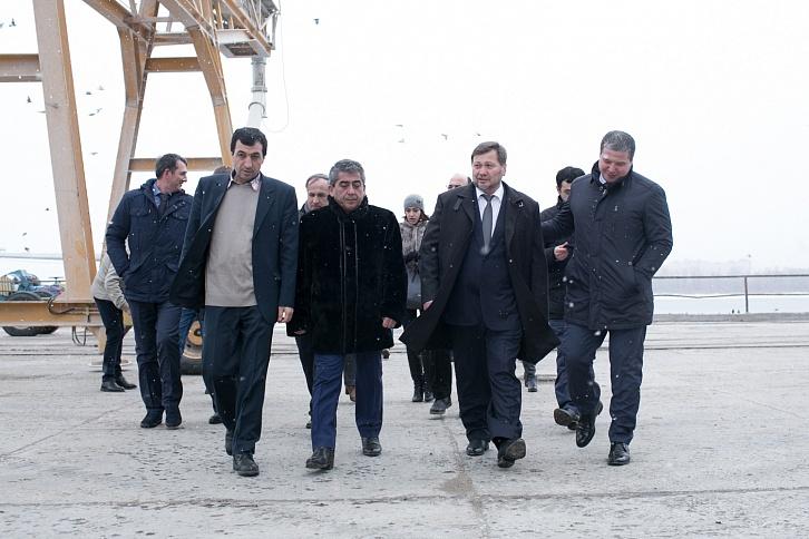 Зимой руководству РФпредставят стратегию развития морских портов Каспийского бассейна