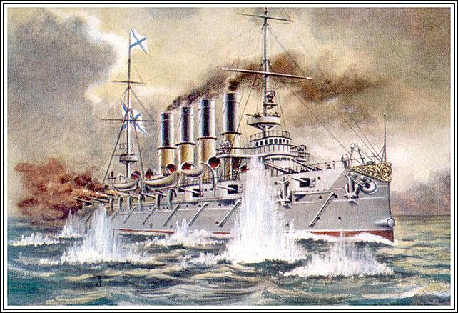 ВоВладивостоке подчеркнули 113-ю годовщину боя крейсера «Варяг»
