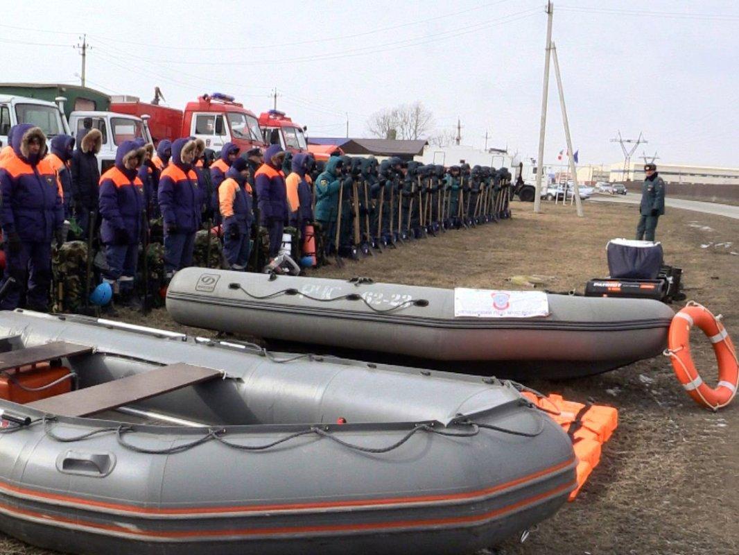 Ставрополье участвует вмасштабной тренировке поликвидацииЧС из-за половодья
