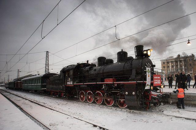 Завтра вДагестан прибывает поезд «Победа»