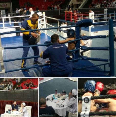 ВЧечне стартовали чемпионат ипервенство Российской Федерации покикбоксингу
