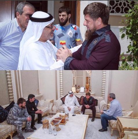 Наследный принц Дубая сделал Рамзану Кадырову царский подарок