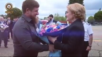 Кадыров готов помочь организовать поездку финского журналиста вЧечню попросьбе Захаровой