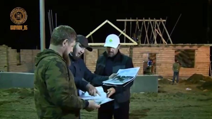 Вчеченской Ойсхаре начали строить 4 трёхэтажных дома на116 квартир