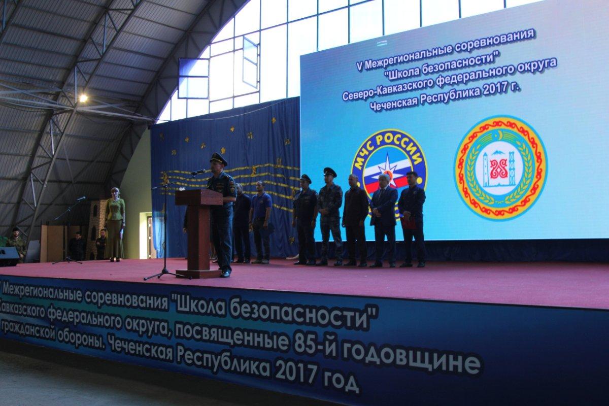 Команда Ставропольского края стала серебряным призером состязаний «Школа безопасности-2017»