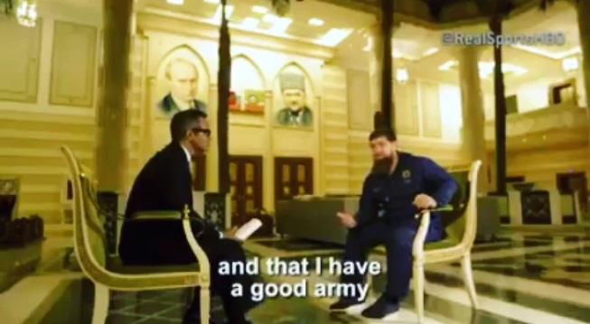 Песков: Кадыров не сообщил ничего изряда вон выходящего