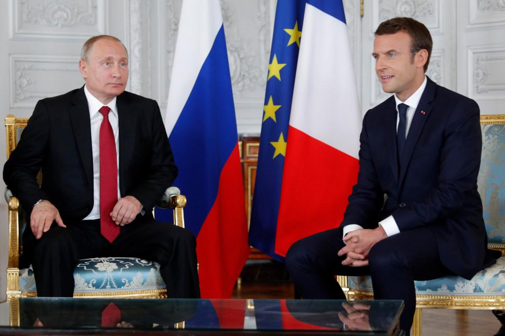 Франция готова вместе сРоссией противодействовать применению химоружия вСирии